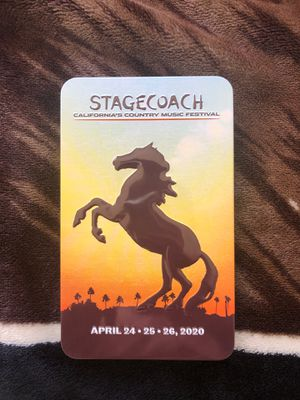 2 Stagecoach 2020 tickets for Sale in Pomona, CA