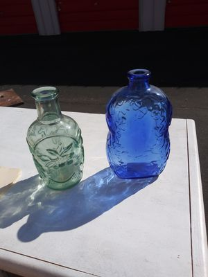 Two Antique Glass Bottles for Sale in Glendale, AZ