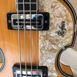 Vintage Original HOFNER Bass Guitar for Sale in Pearland, TX