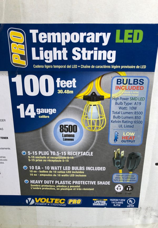 LED String Lights - NEW Includes Bulbs!!