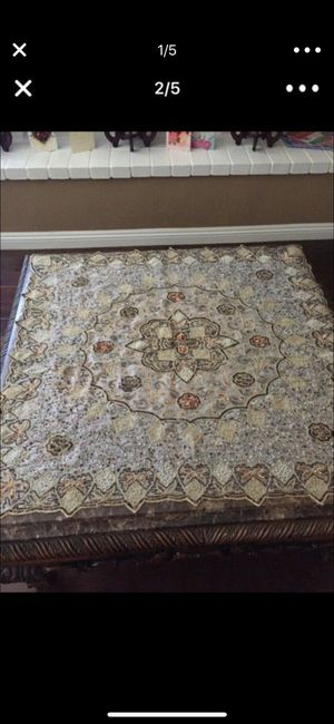5 piece elegant table covers for Sale in Poway, CA