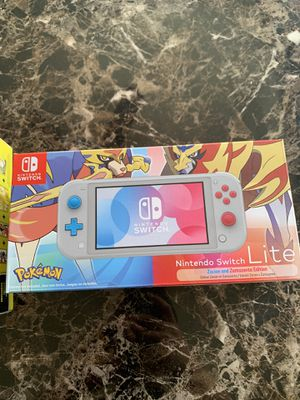 Nintendo Switch Lite Zacian and Zamazenta Edition for Sale in Fresno, CA
