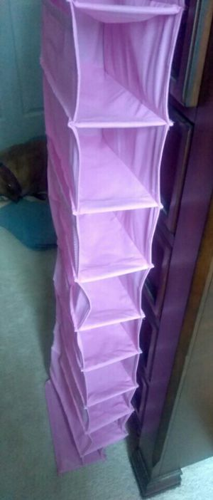 Pink closet shoe organizer for Sale in Aragon, GA