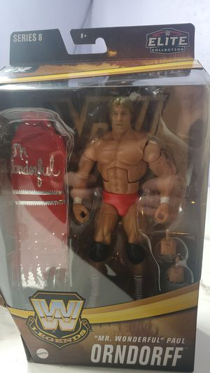 wwe legends series 8 Mr wonderful Paul Orndorff for Sale in San Leandro, CA