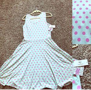 BNWT Blue & Pink Lularoe Nicki Dress for Sale in Cypress, CA