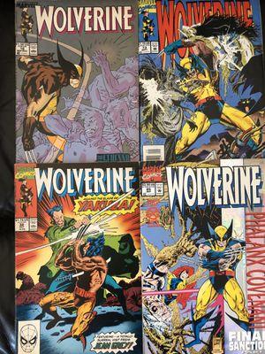 Marvel vintage Wolverine collectible comics for Sale in Gardena, CA