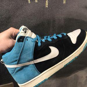 Nike Sb Dunk High Send Help Size 12 With Box for Sale in Tukwila, WA