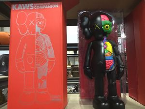 Kaws Star Wars figure black dissected figure brand new in the box for Sale in Mount Rainier, MD