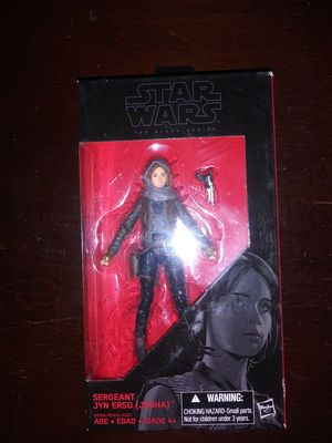 Star Wars Black Series Jyn Erso action figure for Sale in Austin, TX