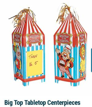 Circus/carnival Centerpieces for Sale in South Gate, CA