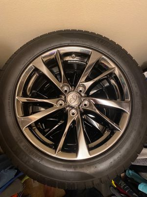 Infiniti wheels and tires for Sale in Baton Rouge, LA