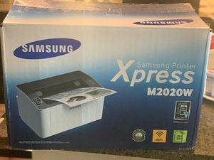 Samsung Xpress M2020W wifi printer (monochromatic) NFC, used like new for Sale in College Station, TX