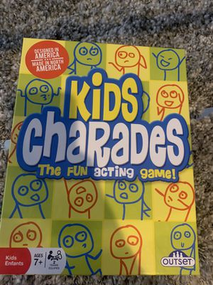 Kids Charades (The fun Acting game) for Sale in Matawan, NJ