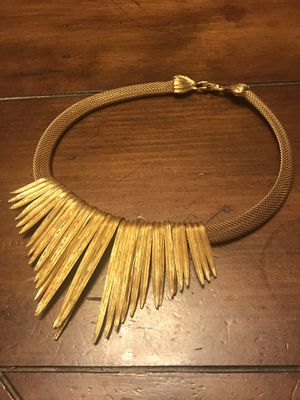 Women's Necklace Gold Color for Sale in Washington, DC