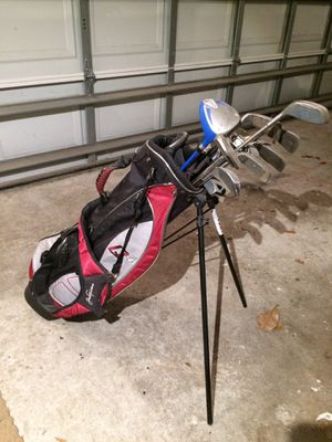 Junior Golf Bag + 14 Clubs for Sale in Tampa, FL