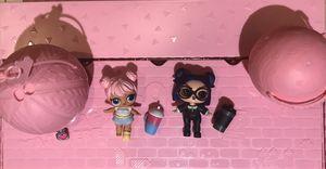 Two LOL Surprise Doll Confetti Pop DUSK & DAWN (3-006 and 3-007) for Sale in Miami, FL