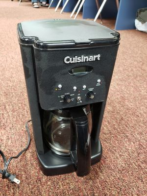 Gently Used Cuisinart Brew Central DCC-1200BKS 12-Cup Coffee Maker - Black/Stainless for Sale in Jacksonville, FL