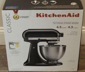 Kitchen aid stand mixer by KitchenAid brand new Black $150 firm means firm! Brand New 4.5qt Stand Mixer for Sale in Fountain Valley, CA