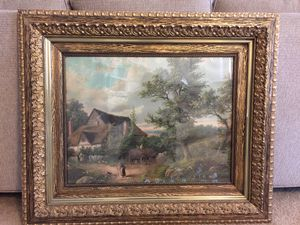 VINTAGE GOLD ORNATE PICTURE & FRAME for Sale in Payson, AZ