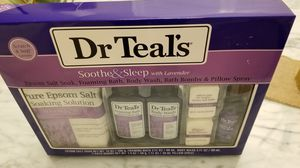 Dr Teal's 6-Piece Soothe and Sleep Bath Gift Set with Lavender for Sale in Milpitas, CA