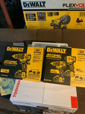 "Dewalt atomic hammer drill,atomic 2 tool combo drill/driver ""3 tools brand new "" for Sale in Cleveland, OH"
