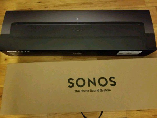 Sonos Beam - New, WiFi capable Surround Soundbar