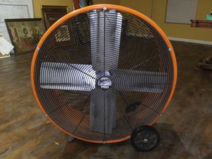 """2 Speed 30"""" Industrial Heavy Duty Steel Portable Tilt Drum Fan for Sale in Coldwater, MS"""