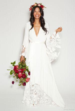 Boho style wedding dress for Sale in Payson, AZ