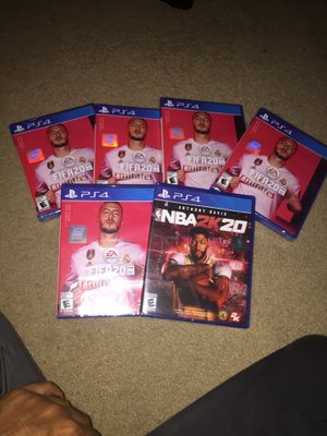 Fifa 20 and nba 2k20 (brand new ) for Sale in Minneapolis, MN