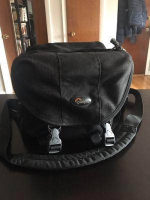 Big camera bag lowepro black stealth reporter 200 aw for Sale in Schiller Park, IL