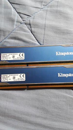 Kingston ram 16gb each for Sale in Franklin, IN