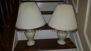 Pair of table lamps for Sale in Westlake, MD