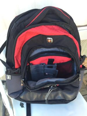Swiss Gear Laptop Backpack black & red for Sale in Hollins, VA