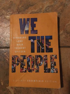 We the People 11th edition Ginsberg Lowi for Sale in Palmdale, CA