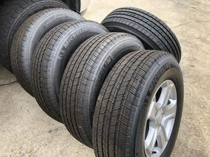 5 brand new Michelin tires and wheels for Sale in Thomasville, NC