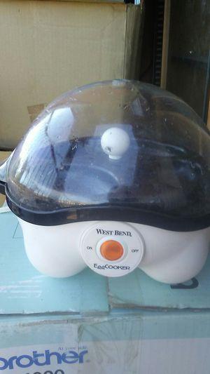 West bend egg cooker for Sale in Phoenix, AZ