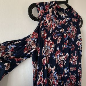 Small Floral Mini Dress With Off-the-Shoulder for Sale in El Sobrante, CA