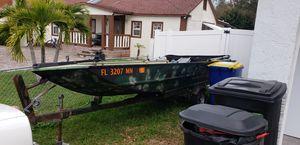16 foot John boat for Sale in Seminole, FL