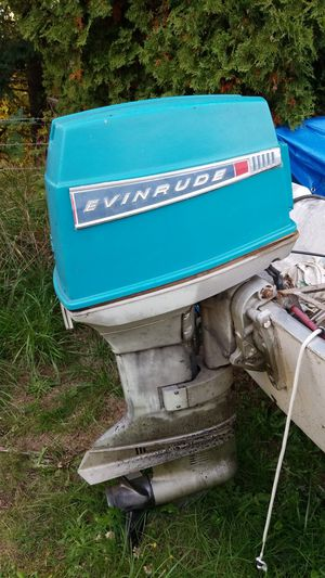 Evinrude 55hp for Sale in Vancouver, WA