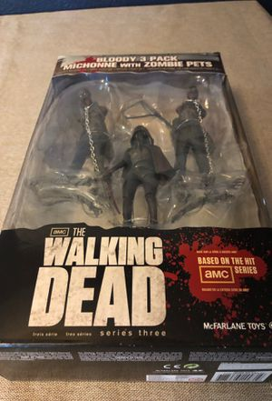The Walking Dead (Series 3) 3-Pack: Michonne for Sale in Riverview, FL