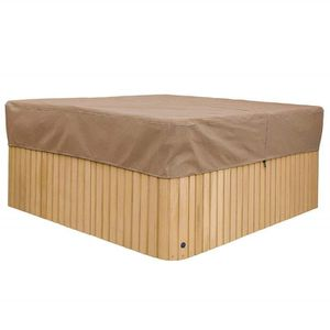 "Hot Tub Cover Protector, 86"" Square, beige, lightweight for Sale in Sun City, AZ"