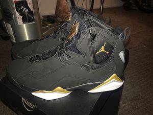 Jordan True Flights Black and Gold for Sale in La Habra, CA