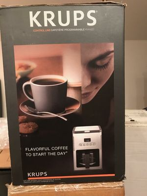 Krups coffee maker for Sale in Port St. Lucie, FL