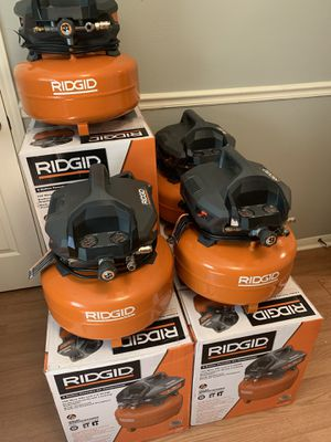 RIDGID 6 Gal. Portable Electric Pancake Air Compressor (dewalt) - NEW IN BOX for Sale in Spring, TX