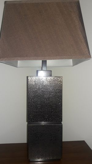 Bronze lamp with shade for Sale in Miami, FL