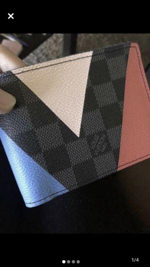 Louis vuitton men's wallet for Sale in Rancho Cordova, CA