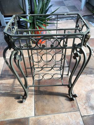 Pure iron table stand for Sale in Hollywood, FL