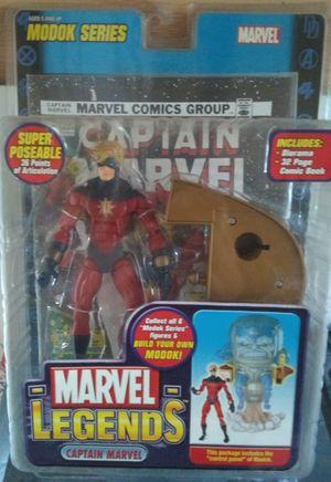 Marvel Legends Captain Marvel for Sale in San Antonio, TX