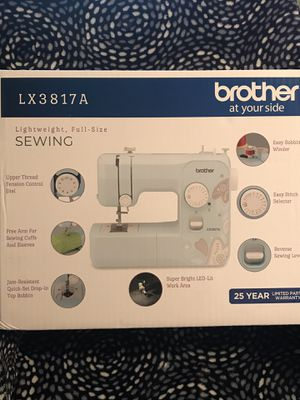 Brother LX3817A Sewing Machine 17 Stitches for Sale in National City, CA