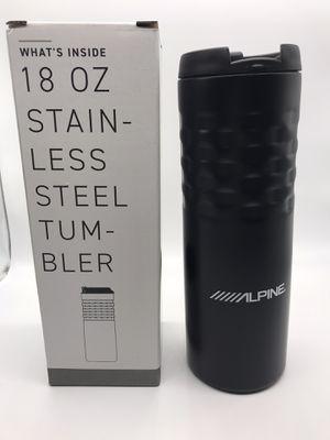 Alpine audio brand new tumbler coffee tumbler black alpine car speakers for Sale in Vista, CA